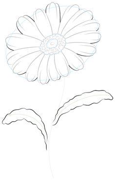 500 Flower Drawings Ideas Drawings Flower Drawing Flower Art