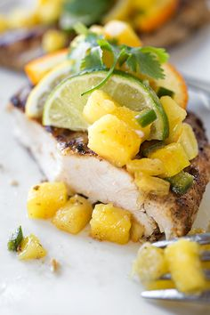 Caribbean-Style Grilled Citrus Chicken   thecozyapron.com