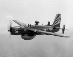 The Grumman AF Guardian was the first purpose-built anti-submarine warfare (ASW) carrier-based aircraft to enter service with the United States Navy. It consisted of two airframes, one for detection gear, the other for weapons. The Guardian remained in service until August 1955, when it was replaced by the twin-engined Grumman S-2 Tracker. The Guardian was the largest single-engined piston-powered carrier aircraft ever to see service.