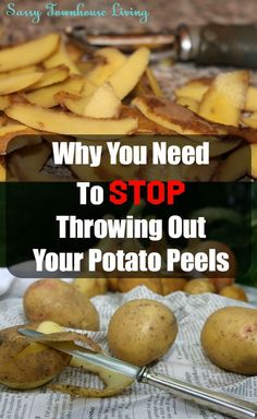 It never dawned on me to stop throwing out my potato peel skins until the other day. And wow, am I glad I did. Do you love chips as much as I do? Well, here's a way to make all natural potato chips from discarded peels. Yep, and they are super delicious t