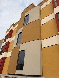 Selim Senin - Picture gallery Building Columns, Building Renovation, Facade Design, Facade Architecture, Beams, Floor Plans, Facades, Gallery, Floors