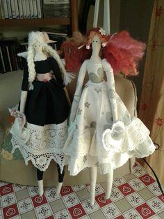 Bambole di stoffa.