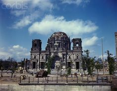 Damaged Berlin Cathedral after World War II - U779508FACME - Rights Managed - Stock Photo - Corbis. July 19, 1945