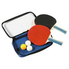 Control Spin Table Tennis 2-Player Racket & Ball Set