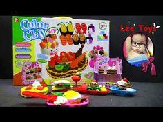 Play doh ice cream shop Kids Toys Cake Children Color Clay Diy Food Funn...