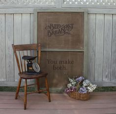 Easy Rustic Country Sign - DIY
