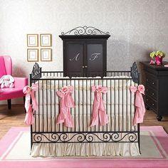 Posh baby nursery