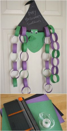 The spirit of Halloween is best celebrated with handmade crafts. Here are 31 easy to make DIY halloween craft ideas for kids. Moldes Halloween, Casa Halloween, Theme Halloween, Halloween Arts And Crafts, Manualidades Halloween, Fall Crafts, Holiday Crafts, Halloween Crafts For Kindergarten, Halloween Crafts For Preschoolers