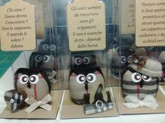 Gufetti in Burberry --Burberry owls-- Fashion owls.
