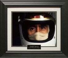 Jackie Stewart Photo Matted and Framed
