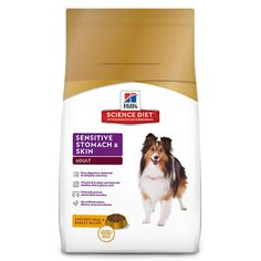 Hill'S Science Diet Adult Sensitive Stomach & Skin Dog Food, Chicken Meal & Barley Recipe Dry Dog Food, 30 Lb Bag. Hill'S Science Diet Adult Sensitive Stomach & Skin Natural Dog Food Is Formulated For Adult Dogs With Food Or Skin Sensitivities
