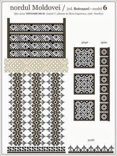 romanian embroidery pattern
