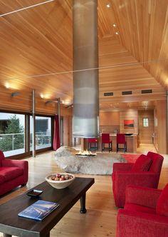 Pond House embracing the Coast of Maine designed by Elliott + Elliott Architecture