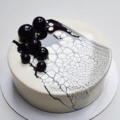 Муссовый торт с леопардом
