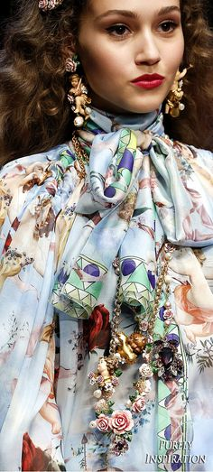 Dolce & Gabbana SS2018 | Purely Inspiration