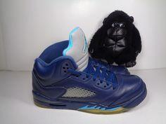 fdb9dd83654 Kids Nike Air Jordan Retro 5 Hornets BG 440888-405 Basketball shoes size 7  Youth