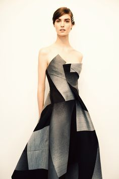Donna Karan pre-fall 2013, future fashion, future clothes.