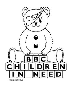 Printable Children In Need Pages 2