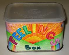 Art Activity! I love cans, tins and boxes!!!