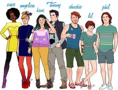 rugrats characters as adults