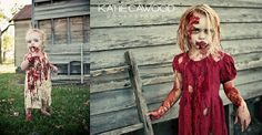 Zombie Session by Katie Cawood via Flickr.   Halloween session inspiration. The Walking Dead.