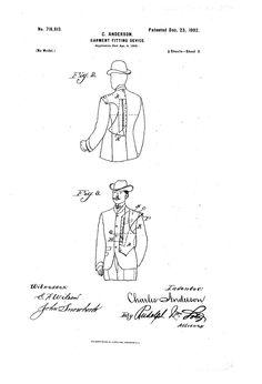 1902 Patent US716613 - GARMENT-FITTING DEVICE - Google Patents