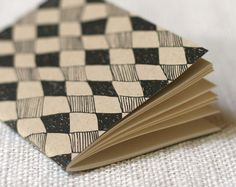 Jotter, Pocket Notebook, Mini Journal - Black Diamond