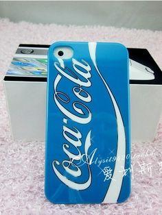 Coca-Cola Pattern Protective Case ForIPhone 4/4S - VeryShop.com