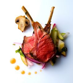 Lamb | Roasted Rack of Lamb with Green Apple Fennel Slaw and… | Flickr