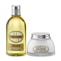 L'OCCITANE en Provence ALMOND SHOWER OIL & CONCENTRATE DUO