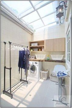 Outdoor Laundry Rooms, Small Laundry Rooms, Laundry Room Organization, Laundry Closet, Bathroom Laundry, Basement Laundry, Laundry Room Design, Home Room Design, Interior Design Living Room
