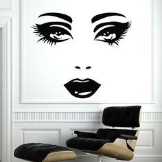 Makeup Wall Decal Vinyl Sticker Decals Home por SuperVinylDecal