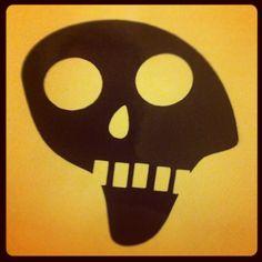 Stoned skull