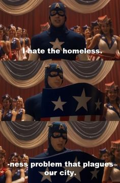 Captain America. This part... Hahaha