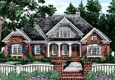 Home Plans and House Plans by Frank Betz Associates  Berkshire Pointe...Nice