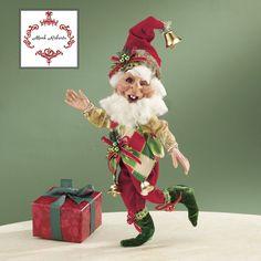 Mark Roberts Bell Ringer Elf