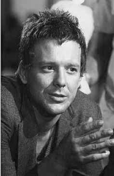 """Mickey Rourke in """"Rumble Fish"""" (1983).  DIRECTOR: Francis Ford Coppola."""