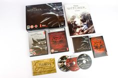 The Witcher Limited Collectors Edition for PC by CD Projekt RED, 2007