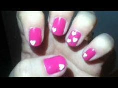 Simple Do Yourself Nail Designs | img 4731 cute easy valentine nails Cute, Easy Valentine Nails