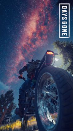 I love this night sky. Days Gone is a beautiful game in so many ways. Go Wallpaper, Phone Screen Wallpaper, Playstation Games, Ps4 Games, Games For Teens, Adult Games, King's Quest, Day Gone Ps4, Alita Movie