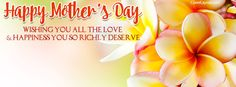 Happy Mother's Day Happiness You Deserve Facebook Cover coverlayout.com