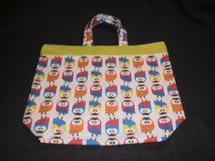 Einkaufstasche aus Baumwolle mit kurzen Henkeln (ca.35cm), Größe ca. 44 x 38 cm, mit 10cm Stehfalte.  100% Baumwolle