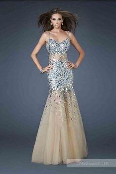 2014 Spaghetti Strap La Femme 18689 Prom Dresses, So Cheap