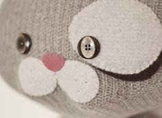 Grey Kitty Kitty by MarieChou on Etsy