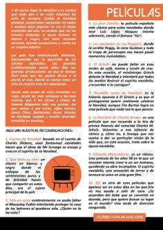 """Pág 1 del artículo """"Películas Navideñas"""" de Gaman Magazine#1 disponible en http://issuu.com/gamanmagazine/docs/n1_gamanfinal"""