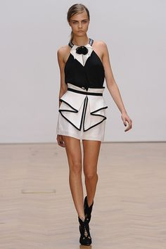 How tailoring should be.  Sass & Bide SS13