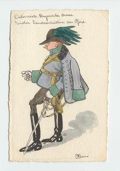 K.K. Tiroler Landesschützen zu Pferd, Rittmeister in Parade-uniform, c.1900 Austria, Austro Hungarian, War Photography, Military Uniforms, Bavaria, Caricature, Wwii, Empire, Cartoons