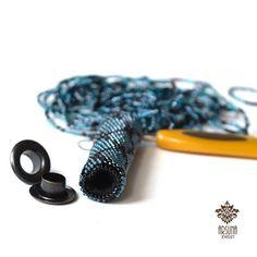 Люверсы в жгутах - небольшое пояснение | biser.info - всё о бисере и бисерном творчестве
