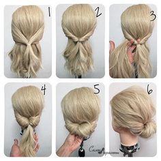 Chignon hair chat