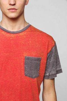 BDG Classic Two-Tone Burnout Tee